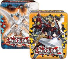 YuGiOh 2012 Set of Both Wave 1 Collector Tins  [Heroic Champion Excalibur & Evolzar Dolkka]