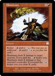 Magic the Gathering Apocalypse Single Card Uncommon #63 Illuminate