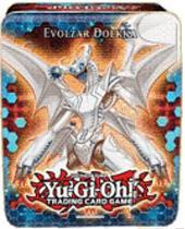 YuGiOh 2012 Wave 1 Collector Tin Set Evolzar Dolkka [Evolzar Dolkka, Dark Highlander, Wind-Up Zenmaines, Genex Neutron & Scrap Dragon]