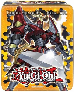 YuGiOh 2012 Wave 1 Collector Tin Set Heroic Champion Excalibur [H.C. Excalibur, Blizzard Princess, Wind-Up Rabbit, Wind-Up Zenmaines & Evolzar Laggia] BLOWOUT SALE!