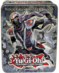 YuGiOh 2012 Wave 2 Collector Tin Set Ninja Grandmaster Hanzo [Shock Master, Rescue Rabbit, Maxx