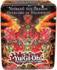 YuGiOh 2012 Wave 2 Collector Tin Set Hieratic Sun Dragon Overlord of Heliopolis [Malefic Truth Dragon, Leviair the Sea Dragon, Rescue Rabbit & X-Saber Souza]