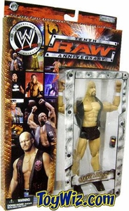 WWE Jakks Pacific Wrestling Action Figure Raw 10th Anniversary Stone Cold Steve Austin