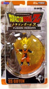 Best of Dragon Ball Z Fusion Reborn Action Figure SS Goten