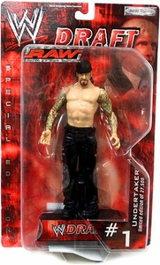 WWE Jakks Pacific Wrestling Action Figure RAW Draft #01 Undertaker