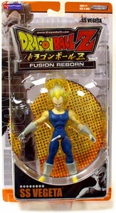 Best of Dragon Ball Z Fusion Reborn Action Figure SS Vegeta