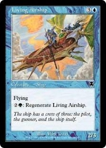 Magic the Gathering Apocalypse Single Card Common #28 Living Airship