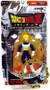 Dragonball Z Saiyan Warriors Action Figure SS Vegeta