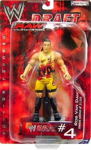 WWE Jakks Pacific Wrestling Action Figure RAW Draft #04 RVD Rob Van Dam