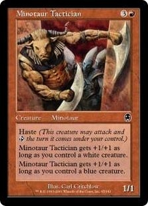 Magic the Gathering Apocalypse Single Card Common #65 Minotaur Tactician