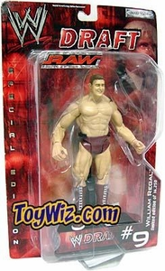 WWE Jakks Pacific Wrestling Action Figure RAW Draft #09 William Regal