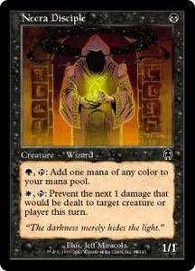 Magic the Gathering Apocalypse Single Card Common #44 Necra Disciple