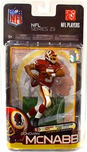 McFarlane Toys NFL Sports Picks Series 23 Action Figure Donovan McNabb (Washington Redskins) White Pants