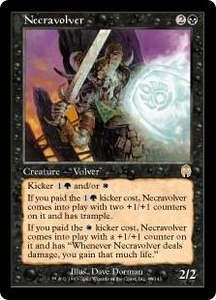 Magic the Gathering Apocalypse Single Card Rare #46 Necravolver