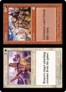 Magic the Gathering Apocalypse Single Card Uncommon #132 Order // Chaos