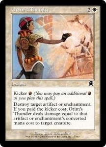 Magic the Gathering Apocalypse Single Card Common #15 Orim's Thunder