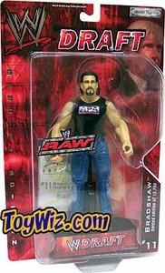 WWE Jakks Pacific Wrestling Action Figure RAW Draft #11 Bradshaw