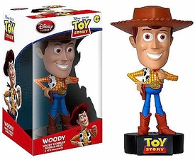 Funko Disney Toy Story Wacky Wobbler Bobble Head Talking Woody