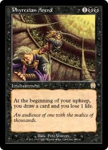 Magic the Gathering Apocalypse Single Card Rare #47 Phyrexian Arena