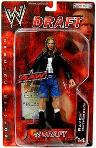 WWE Jakks Pacific Wrestling Action Figure RAW Draft #14 Raven