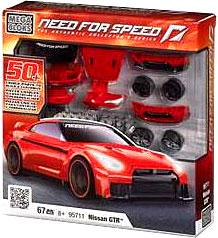 Need For Speed Mega Bloks Set #95711 Nissan GTR