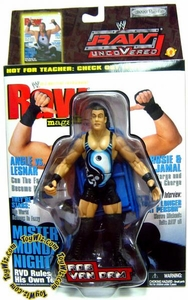 WWE Wrestling Action Figure RAW Uncovered Series 2 RVD Rob Van Dam