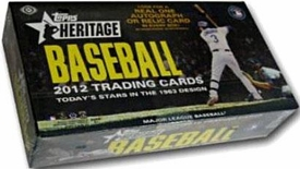 Topps MLB Baseball Cards 2012 Heritage Box