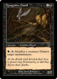 Magic the Gathering Apocalypse Single Card Common #51 Quagmire Druid