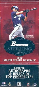 Bowman 2007 Sterling Baseball Hobby Box