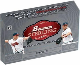 Bowman 2009 Sterling Baseball Hobby Box