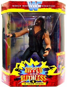 WWE Wrestling Action Figure Ripped & Ruthless Mankind