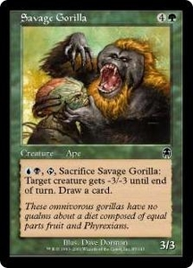 Magic the Gathering Apocalypse Single Card Common #85 Savage Gorilla
