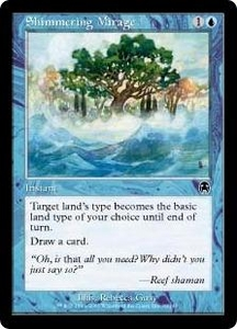 Magic the Gathering Apocalypse Single Card Common #30 Shimmering Mirage