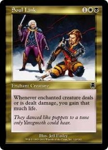 Magic the Gathering Apocalypse Single Card Common #120 Soul Link
