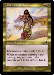 Magic the Gathering Apocalypse Single Card Common #122 Squee's Embrace