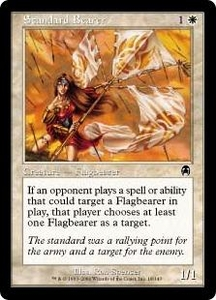 Magic the Gathering Apocalypse Single Card Common #18 Standard Bearer