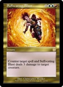 Magic the Gathering Apocalypse Single Card Rare #124 Suffocating Blast