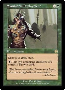 Magic the Gathering Apocalypse Single Card Rare #88 Symbiotic Deployment