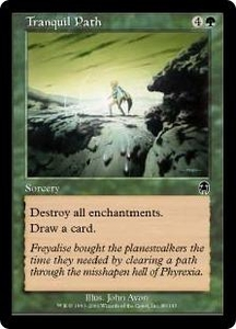 Magic the Gathering Apocalypse Single Card Common #89 Tranquil Path