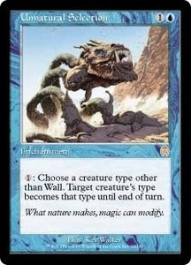 Magic the Gathering Apocalypse Single Card Rare #32 Unnatural Selection