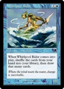 Magic the Gathering Apocalypse Single Card Common #35 Whirlpool Rider