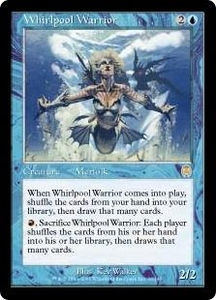 Magic the Gathering Apocalypse Single Card Rare #36 Whirlpool Warrior