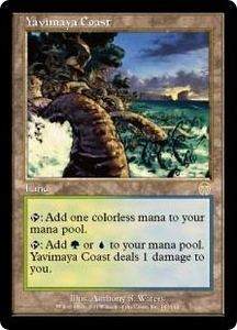 Magic the Gathering Apocalypse Single Card Rare #143 Yavimaya Coast