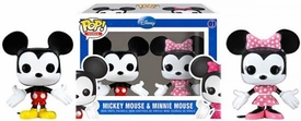 Funko POP! Disney Mini Figure 2-Pack Mickey Mouse & Minnie Mouse