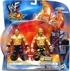 WWE Wrestling Action Figure 2-Pack Sunday Night Heat Backlash Chris Benoit Vs. Chris Jericho