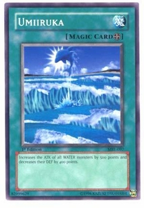 YuGiOh Magic Ruler Single Card Common MRL-097 Umiiruka