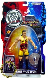 WWE Wrestling Unchained Fury Series 5 Action Figure RVD Rob Van Dam