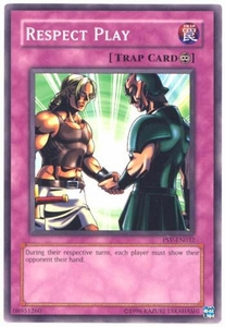 YuGiOh Pharaoh's Servant Single Card Common PSV-032 Respect Play