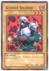 YuGiOh Pharaoh's Servant Single Card Common PSV-097 Science Soldier
