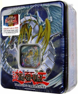 YuGiOh GX 2007Wave 2 Collector Tin Set Rainbow Dragon